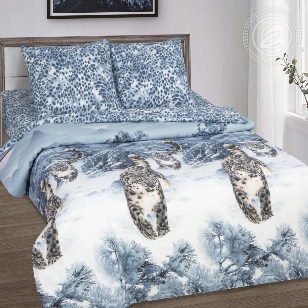 Постельное белье GoodSon Snow Leopard, поплин