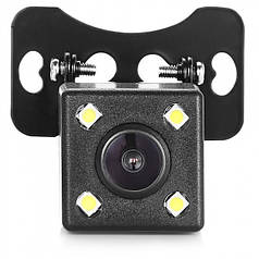 Камера заднего вида автомобиля HLV 707-LED с парковочными линиями и ночным видением