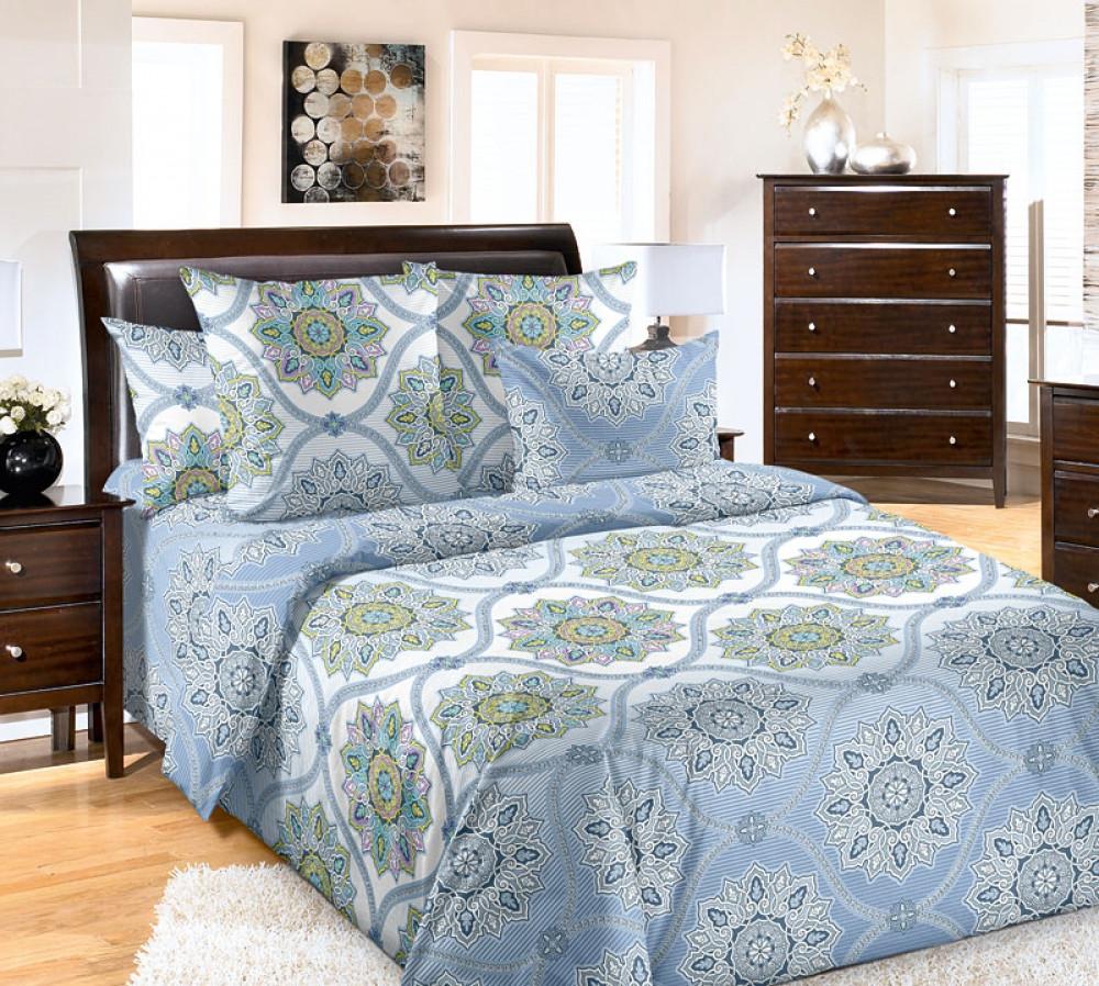 Двуспальный комплект спального постельного белья GoodSon Serenade, перкаль