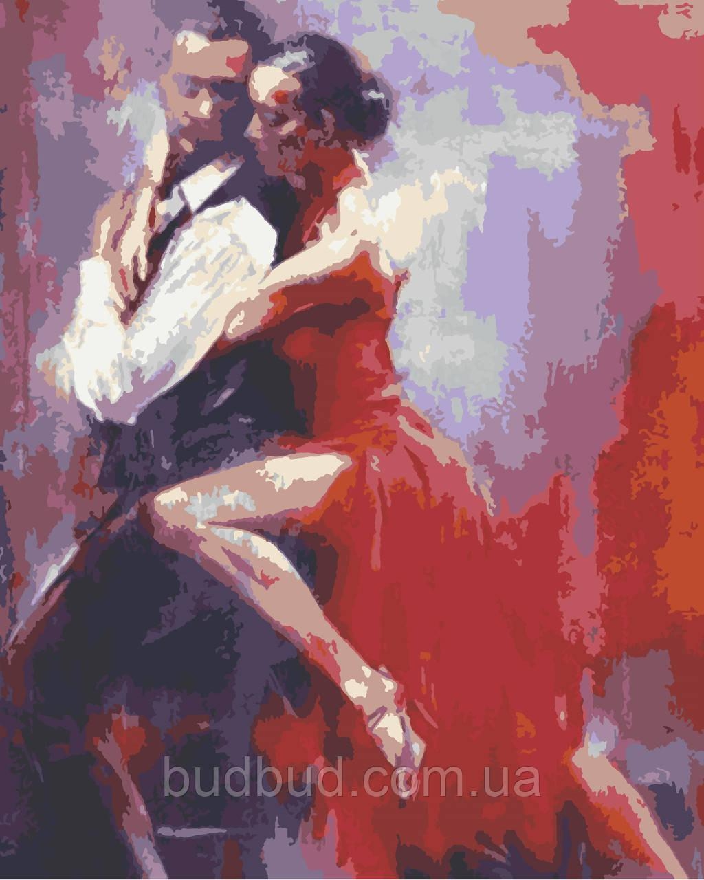 """Картина по номерам """"Танго"""" 40х50 1 шт."""