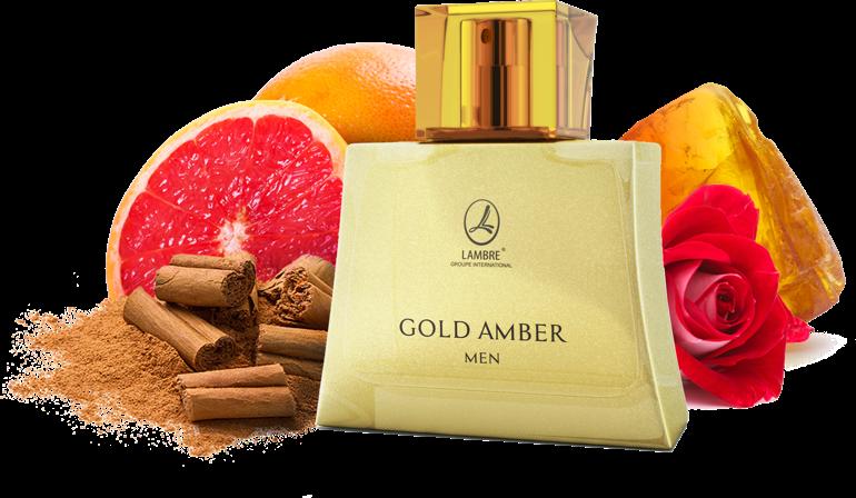 Туалетная вода Gold Amber Men 75 мл