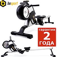 Гребной тренажер Besport BS-6031R DRAGER магнитный черно-желтый. Вес пользователя до: 160 кг