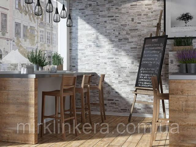 клинкерная плитка на внутренних стенах Церрад