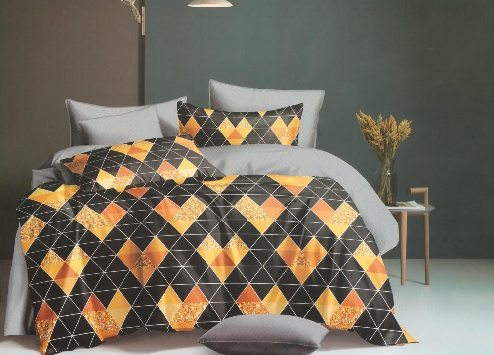 Комплект постельного белья GoodSon Quadro, сатин