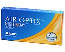 Air Optix Night&Day Aqua 1уп(3шт) + раствор Unica 60мл в Подарок, фото 2
