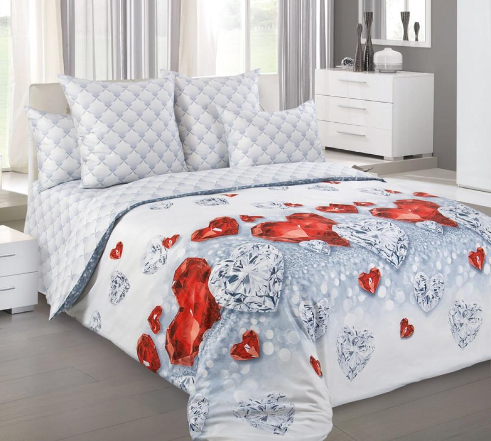 Спальный комплект постельного белья GoodSon Jewel, перкаль
