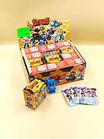 Набор героев Brawl Stars + Чемодан + Фигурка Мегабокс Игровой набор карточки к игре Brawl Stars Бравл Старс |
