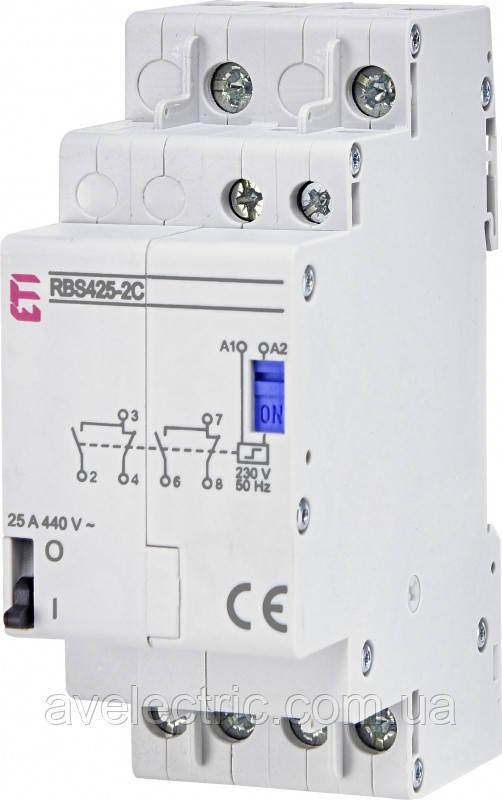 Контактор импульсный RВS 425-40 24V AC (25A, 4NO), ETI, 2464143