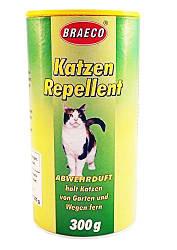 Отпугиватель для котов - Биопорошок Braeco