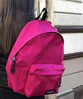 Городской рюкзак EASTPAK EK 620 школьный рюкзак розовый. Живое фото (Реплика ААА+), фото 1