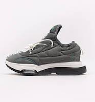 Зимние мужские кроссовки термо Nike Air Zoom Type Macciu серые утепленные 40-45р. Живое фото (Реплика ААА+), фото 1