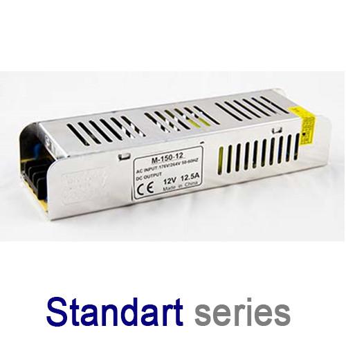 Блок питания 150W 12.5A 12V IP20 серия Standart