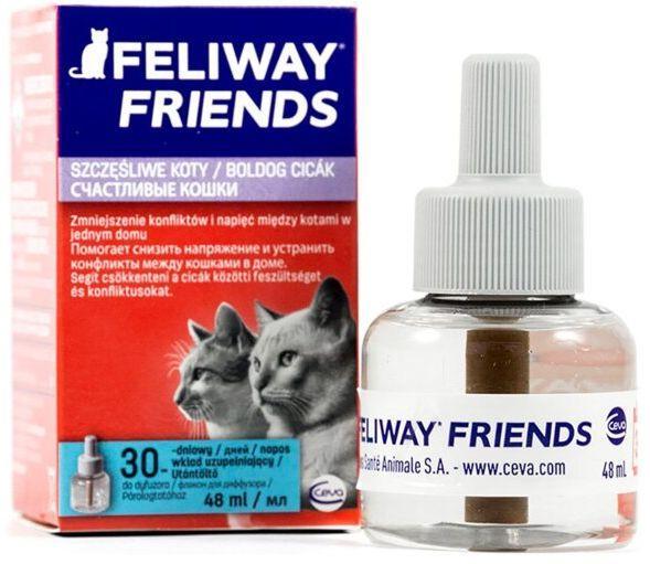 ФЕЛИВЕЙ ФРЕНДС Ceva FELIWAY FRIENDS антистрес феромон для котів і кішок, змінний блок, 48 мл