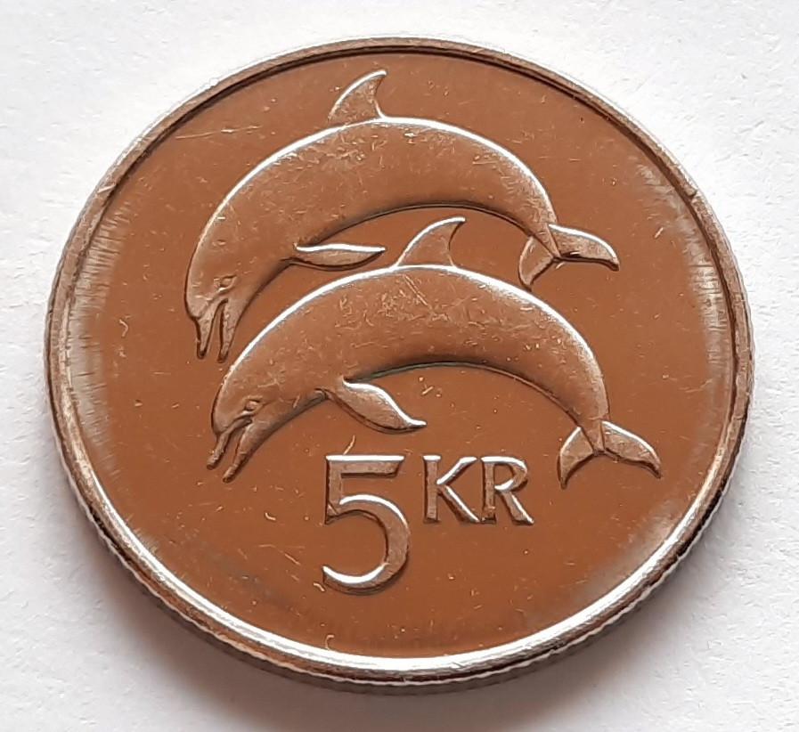 Ісландія 5 крон 2005