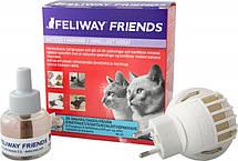 ФЕЛИВЕЙ ФРЕНДС Ceva FELIWAY FRIENDS антистресс феромон для котов и кошек, диффузор со сменным блоком, 48 мл