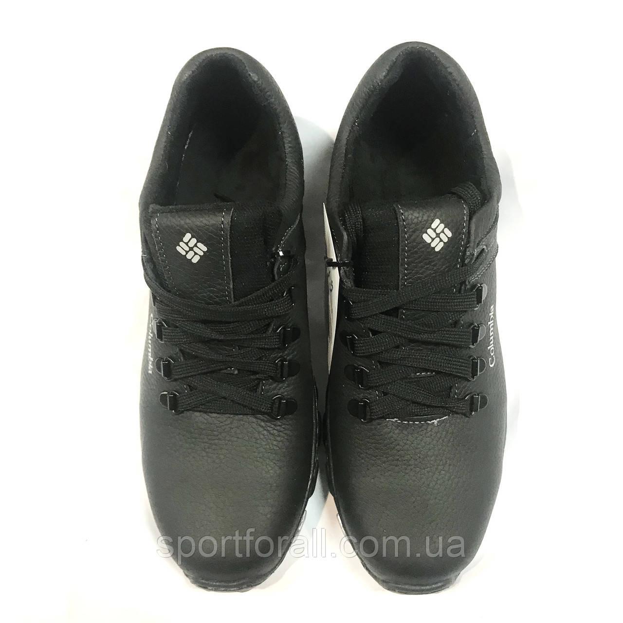 Мужские кожаные кроссовки Columbia р.42-45 UA-855/1