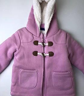 Пальто детское на меху Lupilu /  внутри мех \ новое