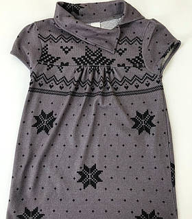 Платье теплое на девочку / размер 134/140