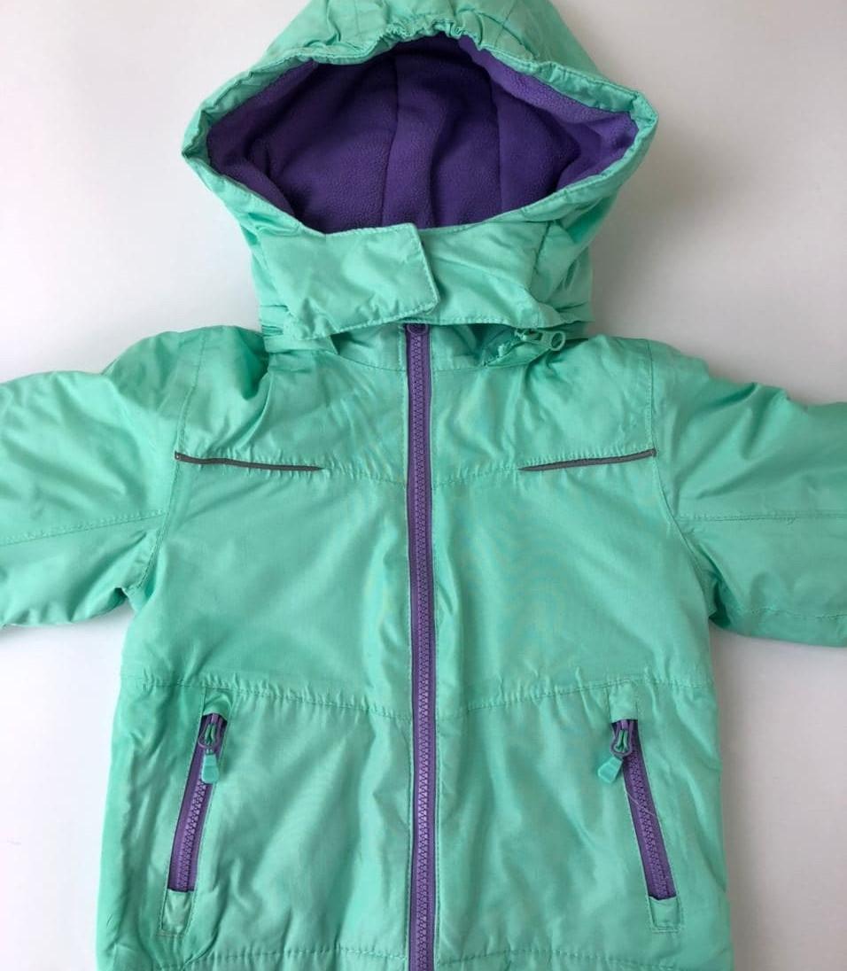 Лыжная детская куртка зима / размер 98-104