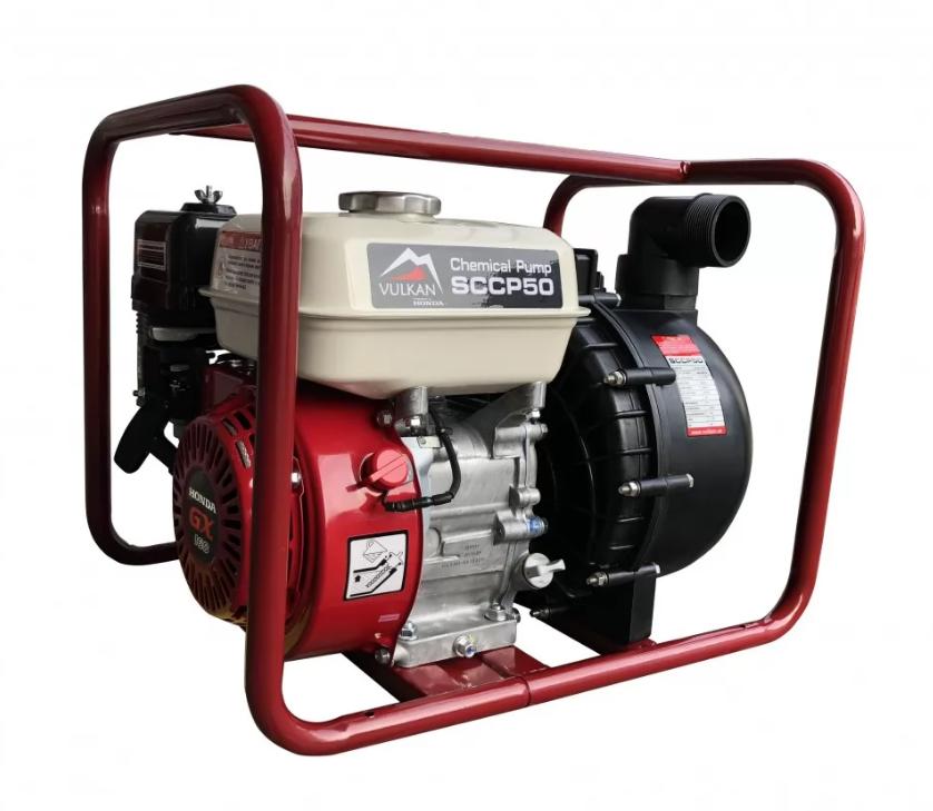 Мотопомпа бензиновая для чистой воды с двигателем Honda GX 160, Vulkan SCWP50H