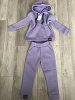 Детский тёплый спортивный костюм на флисе, фото 1