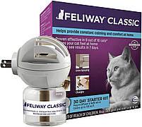 ФЕЛИВЕЙ КЛАССИК Ceva FELIWAY CLASSIC антистресс феромон для котов и кошек, диффузор со сменным блоком, 48 мл