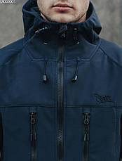 Куртка Staff soft shell navy, фото 3