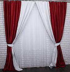Комбинированные шторы из ткани блекаут.Код 014дк(400-409)(1,6*2,9) 10-089, фото 2