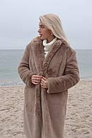 Женская удлиненная зимняя шубка, фото 1