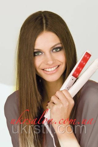 Холодный утюжок UKI SONIC для восстановления и лечения волос