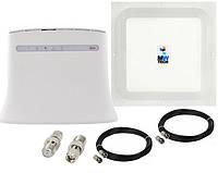 Стаціонарний 4G комплект ZTE MF283U, MIMO Антена 1700-2700 МГц 2*17dBi, фото 1