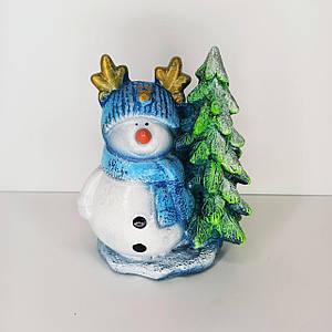 Фігурка Новорічний Сніговик 19 см