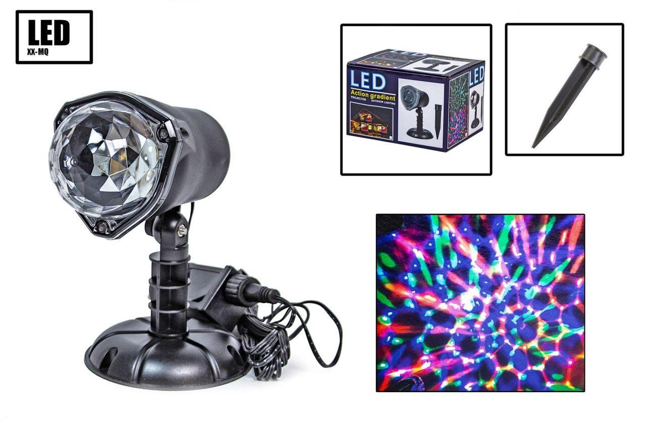 Лазерный новогодний проектор XX-MQ
