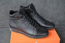 """Зимние кроссовки, ботинки на меху Level """"Черные"""", фото 3"""