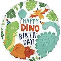 """3202-0444 Кулька А 18"""" ХБ Вечірка динозаврів S40"""