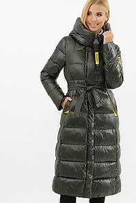 Куртка серо-зеленый-желт 2128