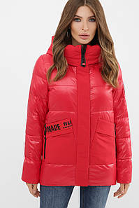 Куртка женская красная 289