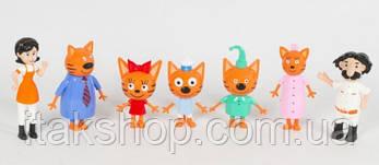Набор Три кота 7 фигурок 83168-MM1, фото 2