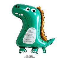 Фольгированный шар Динозавр милый  70х62 см (Китай) в упаковке