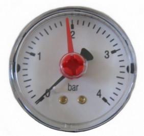 "Манометр Arthermo MA552/P 1/4"" (Ø50 мм, 0-10 бар) аксиальный, задний выход"