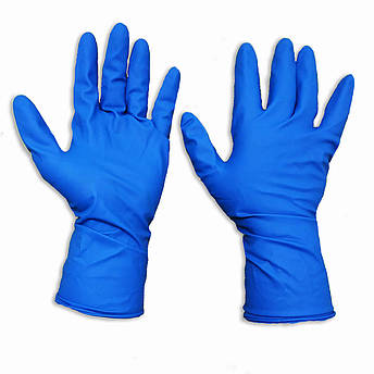 Перчатки медицинские нестерильные, неопудренные MEDLUX, размер — М, уп. — 25 пар, фото 2