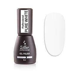 Гель-лак Siller Pure White, 8мл