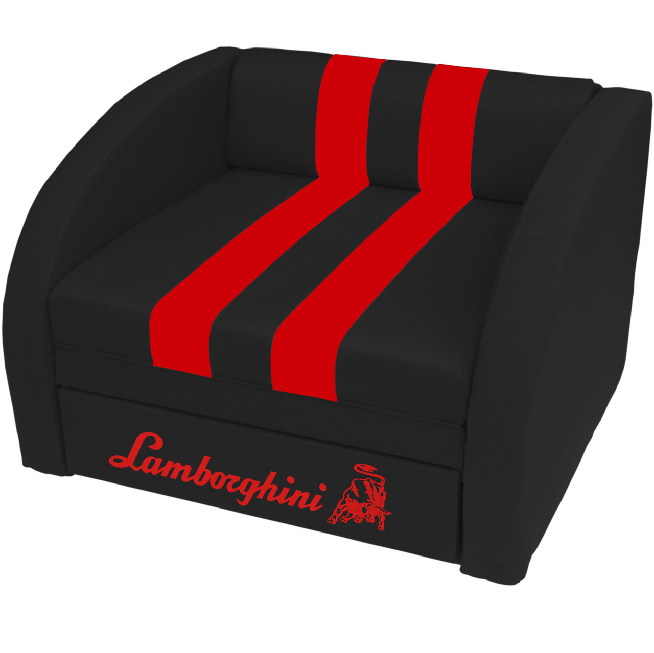Кресло-диван SMART SM 004 Lamborghini черный ТМ Viorina-Deko