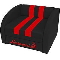Кресло-диван SMART SM 004 Lamborghini черный ТМ Viorina-Deko, фото 1