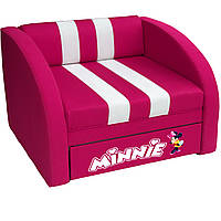 Кресло-диван SMART SM 005 Minnie розовый ТМ Viorina-Deko, фото 1