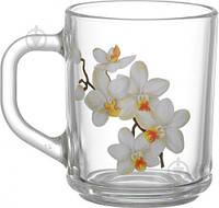 Набор чашек Белая орхидея 200 мл 6 шт. 86004149 Galleryglass