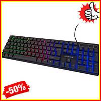 Проводная игровая клавиатура с подсветкой KR-6300