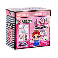 L.O.L. Surprise! Игровой набор Автопутешествие с машинкой  Furniture Road Trip with Can Do Baby, фото 1