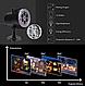 Лазерный проектор уличный новогодний 12в1 комнатный с пультом картинки, фото 3