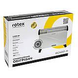 Конвекційні обігрівачі Rotex RCX201-H, фото 5